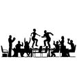 Meeting celebration vector image vector image