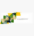 modern geometric abstract background vector image vector image