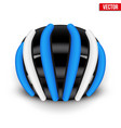 mountain bicycle helmet vector image