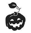 pumpkin icon simple style vector image