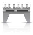 Span bridge vector image