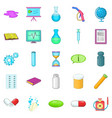 substance icons set cartoon style vector image vector image