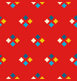 textile print bright rhombuses repeat vector image vector image