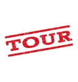 Tour Watermark Stamp vector image vector image