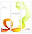 Abstract template banner vector image vector image