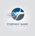 airplane business design vector image vector image