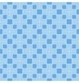 Blue Seamless Geometric Greek Ornament vector image vector image