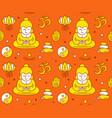 buddhist religious sacred symbols vector image vector image