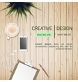 Flat Style Modern Design Concept of Creative vector image vector image