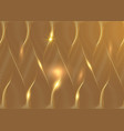 luxury golden wallpaper art deco pattern vip vector image