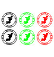 made in republic of the congo rubber stamp vector image vector image