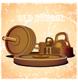 old school gym hot vector image vector image