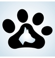Pet shop design animal icon care concept vector image vector image