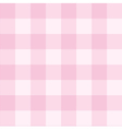 Seamless sweet checkered baby pink background vector image vector image