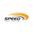 speed icon simple design vector image vector image