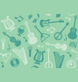 background with string musical instruments vector image vector image