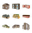 building and home logo set vector image vector image
