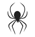 death spider icon simple style vector image
