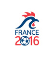 France 2016 Europe Football Championships vector image vector image
