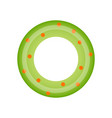 isolated lifesaver icon vector image