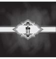 menu chalkboard design vector image vector image