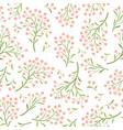 floral tile pattern spring flower bouquets vector image
