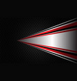 abstract silver red black line zoom circle mesh