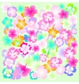 background flower abstract design floral plant vector image