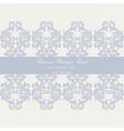 Baroque Vintage Damask card vector image vector image
