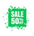 big sale poster banner big sale clearance vector image vector image