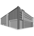 modern building style vector image vector image