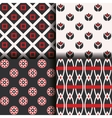 patterns collection vector image vector image
