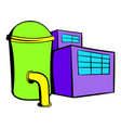 plant industrial building icon icon cartoon vector image