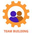 team building vector image vector image