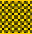 tile yellow and black pattern vector image