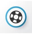 lifebuoy icon symbol premium quality isolated vector image