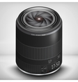 3d photo lens EPS 10 vector image