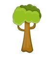 Big tree icon cartoon style vector image vector image