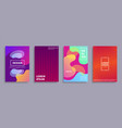 design banners collection vector image