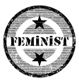 feminist vector image vector image