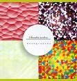glazed ceramic tiles mega set colorful vintage vector image vector image