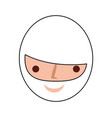 head man avatar character vector image