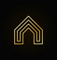 house concept colorful icon vector image