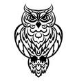 Owl tribal pattern