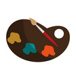 paint or painting icon image vector image vector image