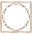 simple ornamental frames Element for graphic vector image