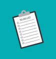 to do list vector image