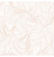 topographic map pattern topography line map vector image
