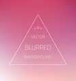 Abstract Gradient Mesh Blurred Passion Background vector image vector image