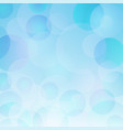 beautiful abstract blue bokeh light backrgound vector image